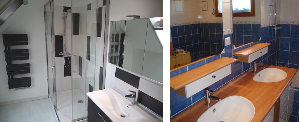 Cout renovation salle de bain nouveaux mod les de maison for Cout renovation salle de bain