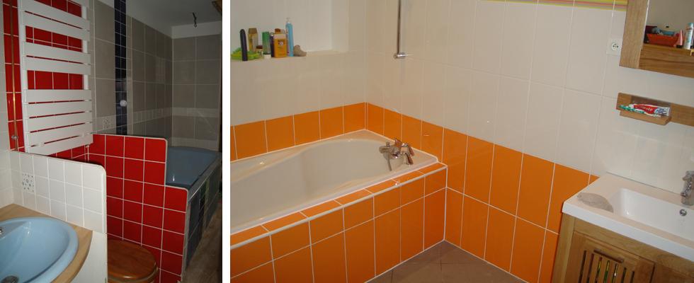 Am nagement salle de bain lecelles raismes saint amand les for Amenagement salle de bain finistere